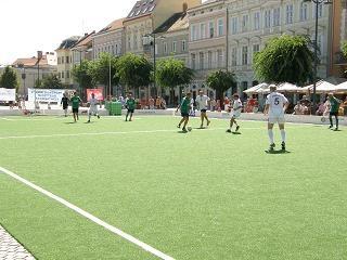 Szombathely, Fő tér családi foci hétvége